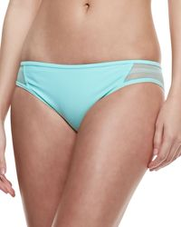Juicy Couture Pro Solids Meshside Bottom Mint Leaf Small46 - Lyst