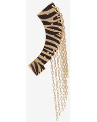 Maria Francesca Pepe - Chain Fringe Single Ear Cuff - Lyst