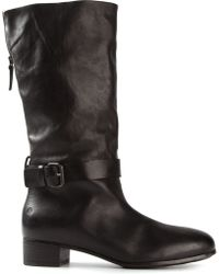 Marsell Round Toe Boots - Lyst