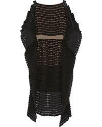 Vionnet Feltembellished Chiffon Mini Dress - Lyst