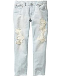 Gap Destructed Sexy Boyfriend Jeans - Lyst