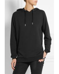 Zoe Karssen Cotton-blend Jersey Hooded Top - Lyst