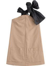 Isa Arfen Linen-Cotton Dress - Lyst