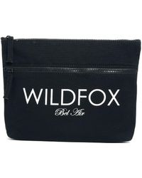 Wildfox Bel Air Canvas Bikini Bag - Lyst