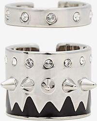Maria Francesca Pepe - Set Of Multi Banded Midi Rings - Lyst