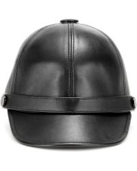 Emilio Pucci - Leather Hat - Lyst