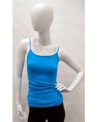 Snug - Snug String Cami in Turquoise - Lyst