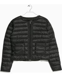 Mango Water-repellent Foldable Jacket - Lyst