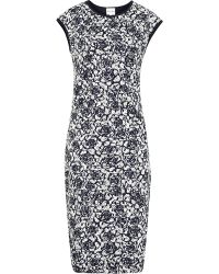 Reiss Ralli Lace Bodycon Dress - Lyst