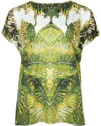 Ted Baker Dacce Tropical Dove Printed Top - Lyst