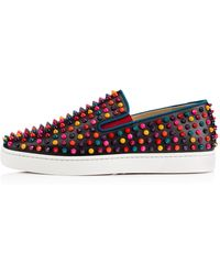 Christian Louboutin Rollerboat Spikes - Lyst