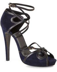 Hermes Hermãs Strappy Platform Sandals - Lyst
