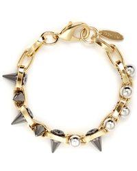 Joomi Lim - Spike Bead Chain Bracelet - Lyst