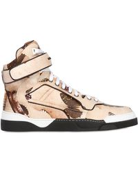 Givenchy Tyson Butterfly Leather High Top Sneaker - Lyst