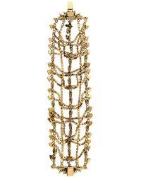 Erickson Beamon - Bette Gold-Plated Crystal Bracelet - Lyst