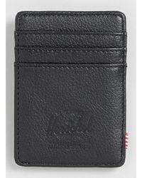 Topman Herschel Raven Card Holder - Lyst
