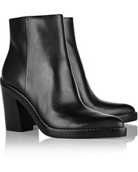 Alexander Wang Kelli Leather Ankle Boots - Lyst