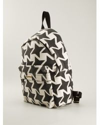 Stella McCartney Star Print Backpack - Lyst
