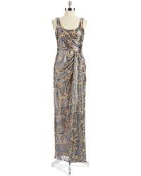 David Meister Sequin Gown - Lyst