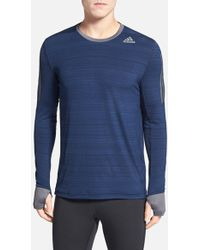 Adidas 'Supernova' Climacool Long Sleeve Running T-Shirt - Lyst