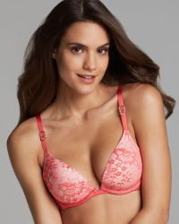 Stella McCartney Bra Lace Convertible Plunge - Lyst