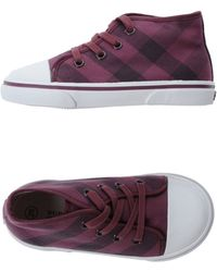Burberry Sneakers - Lyst