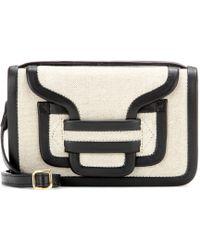 Pierre Hardy Bag 61 Leather and Linen Shoulder Bag - Lyst