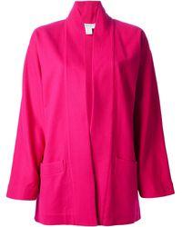 Versace Pink Open Jacket - Lyst