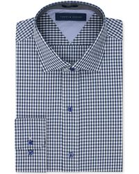 Tommy Hilfiger Slim-Fit Check Dress Shirt - Lyst