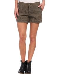 Stetson - Canvas Boyfriend Fit Short - Lyst