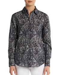 Robert Graham Sensation Cotton Shirt - Lyst
