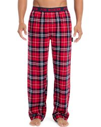 Joe Boxer - Plaid Flannel Pyjama Pants - Lyst