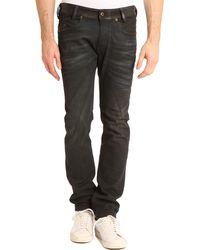 Diesel Lakop Coated Black Slimfit Blue Jeans - Lyst
