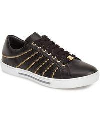 Versace Zipper Sneaker - Lyst