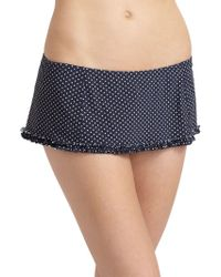 Tory Burch Montecito Polka Dot Swim Skirt - Lyst