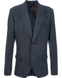 Dolce & Gabbana Tweed Blazer - Lyst