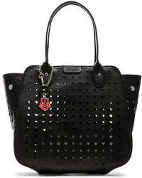 Love Moschino I Love Grommet Tote - Lyst