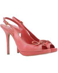 Prada Sandals pink - Lyst