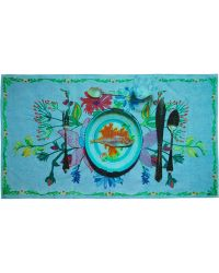 Etro Printed Beach Towel - Lyst