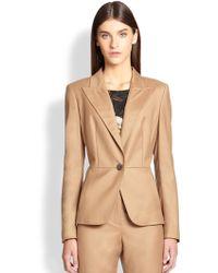 ESCADA Stretch Virgin Wool & Cashmere Jacket - Lyst