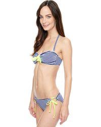 Splendid Malibu Bandeau Swim Top - Lyst