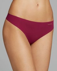 Calvin Klein Thong - Invisibles #D3428 - Lyst