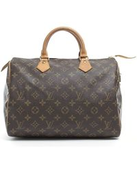 Balenciaga Preowned Louis Vuitton Monogram Canvas Speedy 30 Bag - Lyst