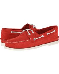 Sperry Top-sider Ao 2-eye Suede - Lyst