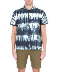 Obey Tie-dye Cotton Shirt - For Men - Lyst