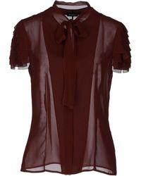 Akris Short Sleeve Shirt - Lyst