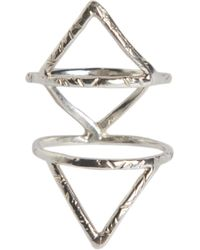 Rebecca Taylor - Caged Ring - Lyst
