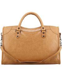 Balenciaga Classic City Bag Cumin - Lyst