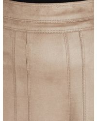 Gerry Weber - Faux Suede Skirt - Lyst