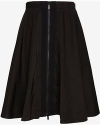 Elizabeth And James Belle Two Way Zipper Full Skirt - Lyst